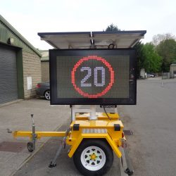 speed reactive vms sign hire