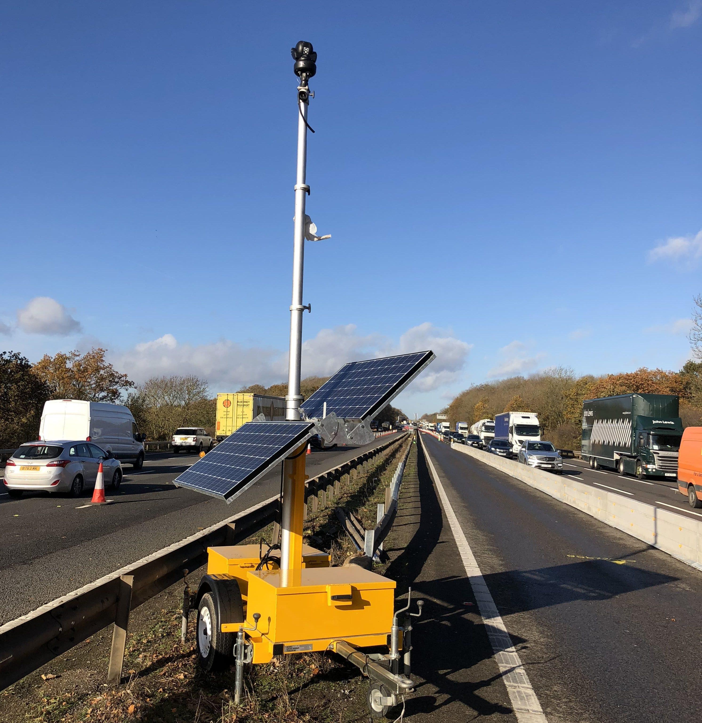 Solar IP with CCTV