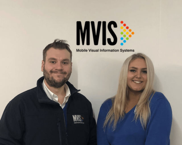 Sean and Tillie - the new marketing team at MVIS