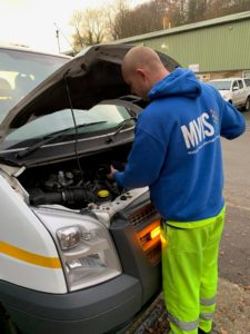 MVIS Road Safety Week Oil Check