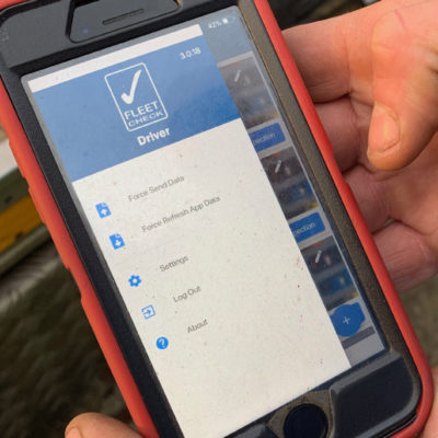 MVIS Road Safety Week Vehicle Check App