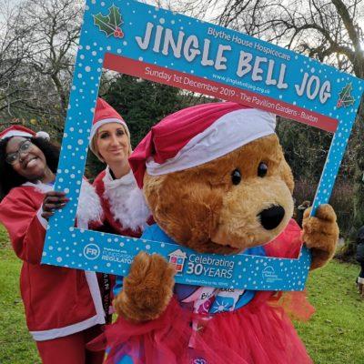 mvis staff at jingle bell jog