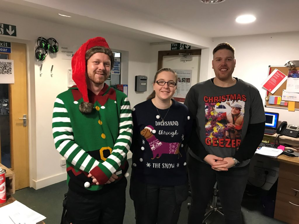 Christmas Jumper Day 2019 - Mobile Visual Information Systems - MVIS