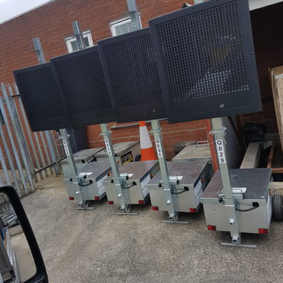 hd compact vms for airport traffic management