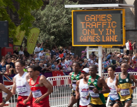 event traffic management for Olympics 2012