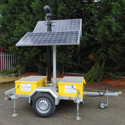 solar ip with portable cctv