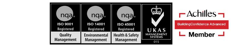 ISO 14001:2015 ISO 9001:2015 ISO 45001:2018